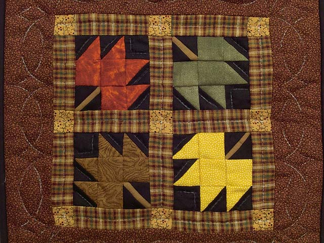 Miniature Autumn Splendor Quilt Photo 2