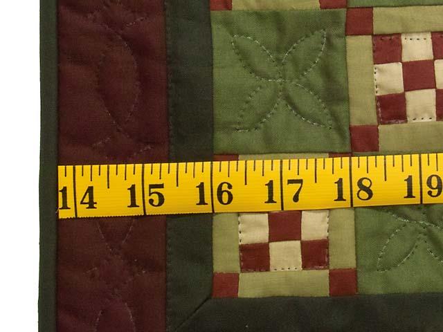 Miniature Nine Patch Quilt Photo 3