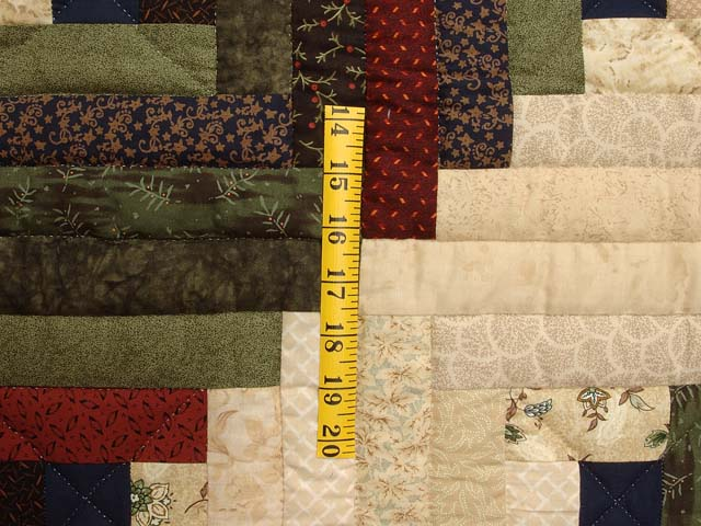 Country Colors Log Cabin Throw Photo 4