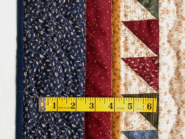 Navy Burgundy and Multi Patriotic Stars Wall Hanging Photo 4