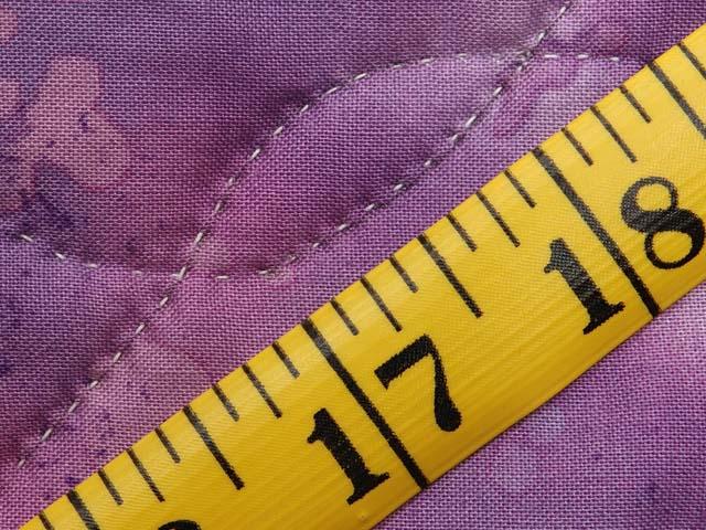 Purple and Pastels Tumbling Blocks Crib Quilt Photo 6