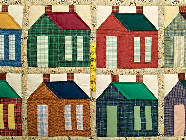 Burgundy and Plaid Schoolhouse Throw Photo 3