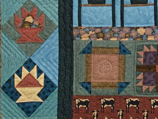 Almost Amish Sampler Throw Photo 4