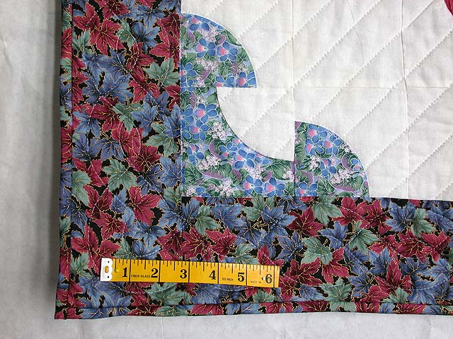 Tulips by the Path Applique Wall Hanging Photo 6
