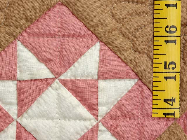 Indiana Amish Honeyville Star Quilt Photo 4