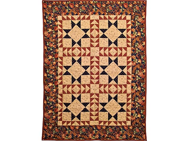 Harvest Colors Star of Hope Throw Photo 1