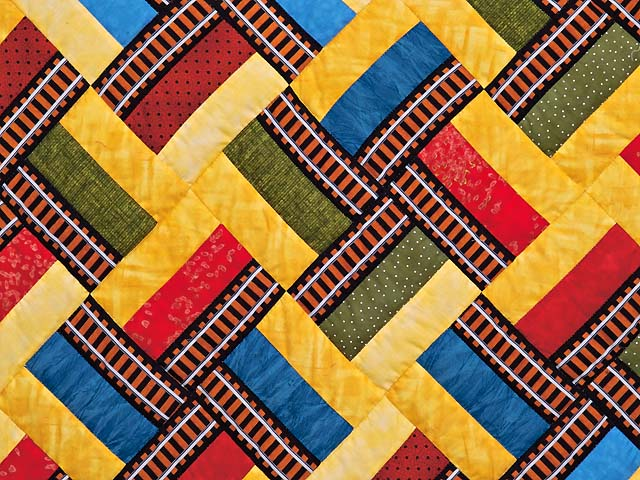 Theo Train Crib Quilt Photo 3