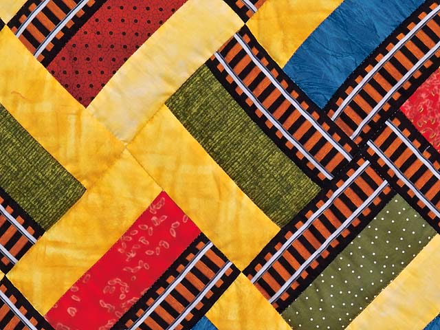 Theo Train Crib Quilt Photo 4