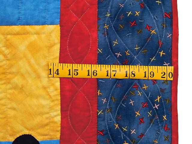 Theo Train Crib Quilt Photo 5