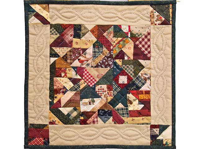 Miniature Crazy Quilt Photo 1