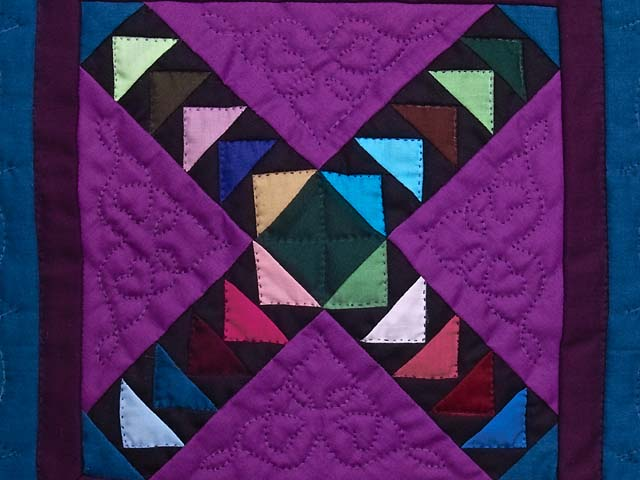 Miniature Crossed Flying Geese Quilt Photo 2