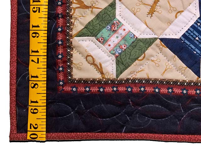 Miniature Spool and Scissors Quilt Photo 3