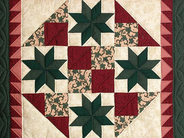 Red and Green Starburst Wall Hanging Photo 2