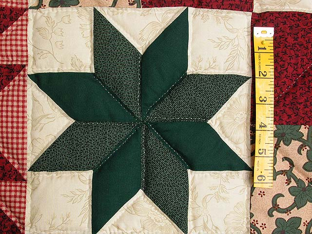 Red and Green Starburst Wall Hanging Photo 4