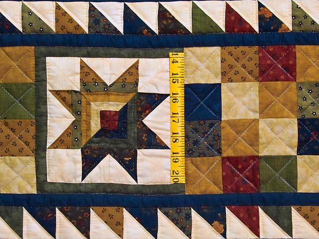 Country Colors Patchwork Runner Photo 3