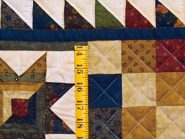 Country Colors Patchwork Runner Photo 4