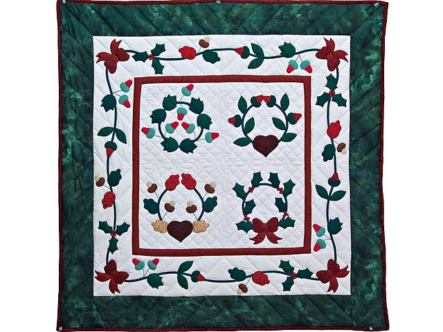 Christmas Album Sampler Wall Hanging Photo 1