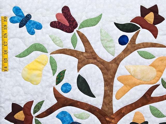 Applique Tree of Life Wall Hanging Photo 3
