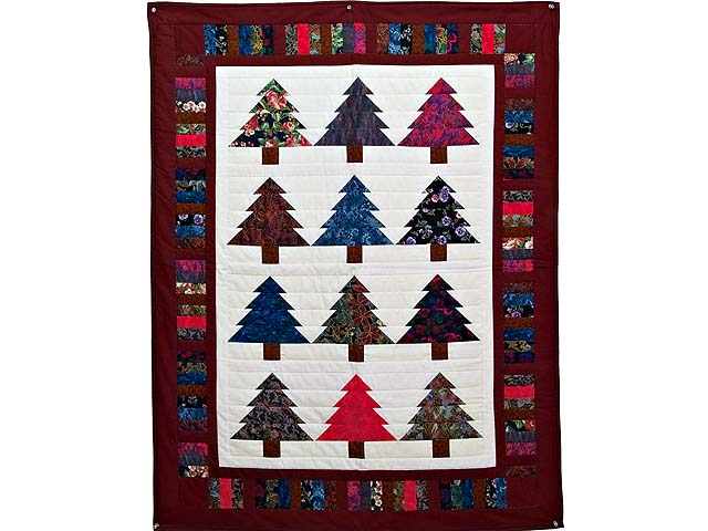 Christmas Trees Wall Hanging Photo 1