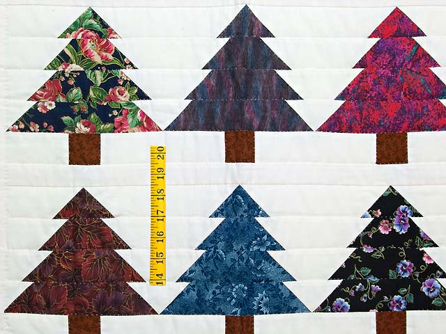 Christmas Trees Wall Hanging Photo 3