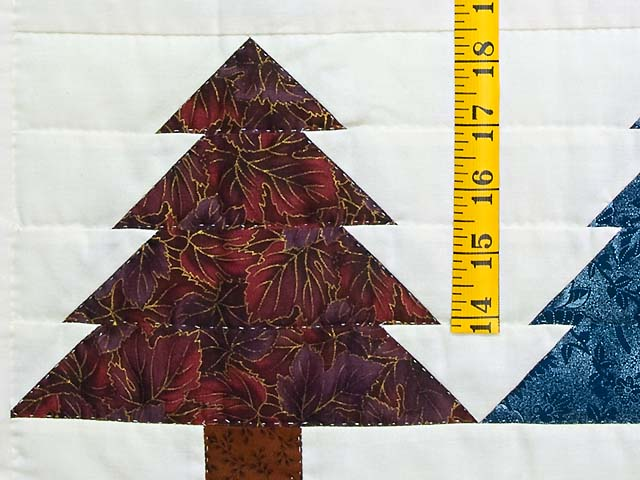 Christmas Trees Wall Hanging Photo 4