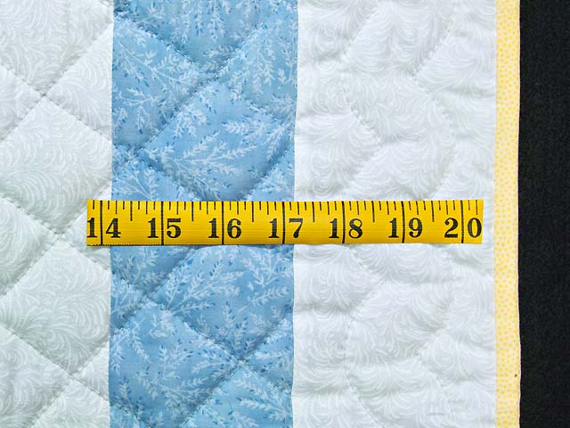 Pastel Blue and Yellow Ducks and Boats Crib Quilts Photo 6