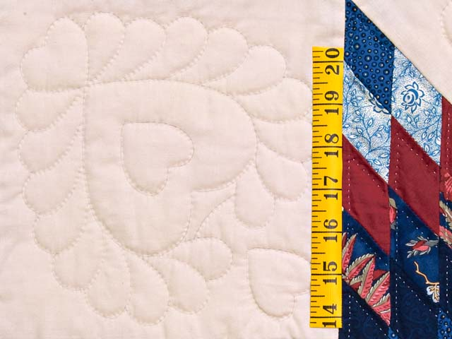 Blue Navy and Red Constellation Lone Star Throw Photo 4