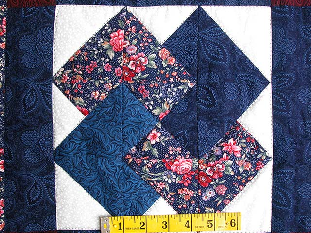 Navy and Burgundy Card Tricks Wall Hanging Photo 3
