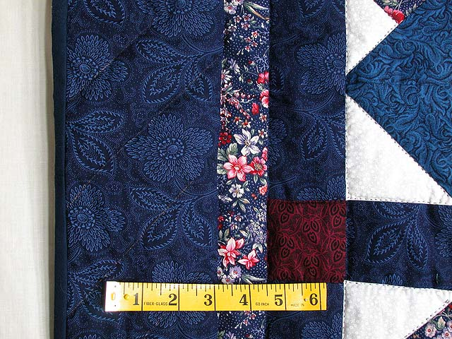 Navy and Burgundy Card Tricks Wall Hanging Photo 4