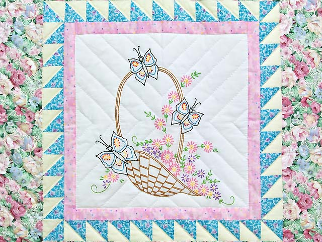 Spring Basket Wall Hanging Photo 2