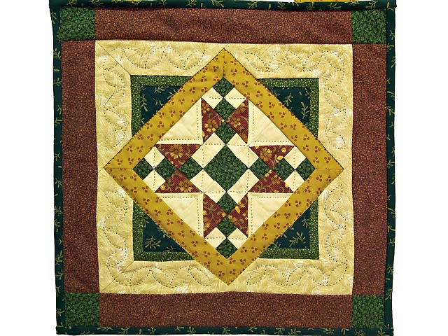 Miniature Mosaic Quilt Photo 1