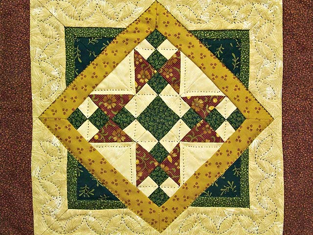 Miniature Mosaic Quilt Photo 2