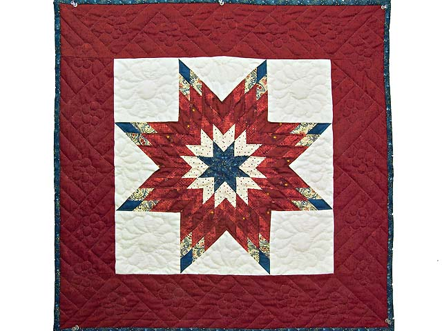 Patriotic Lone Star Wall Hanging Photo 1