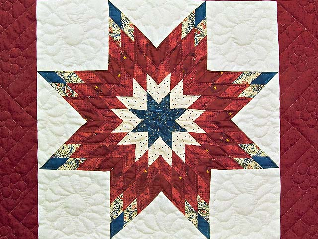 Patriotic Lone Star Wall Hanging Photo 2