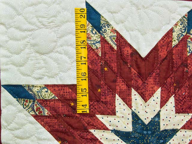 Patriotic Lone Star Wall Hanging Photo 3