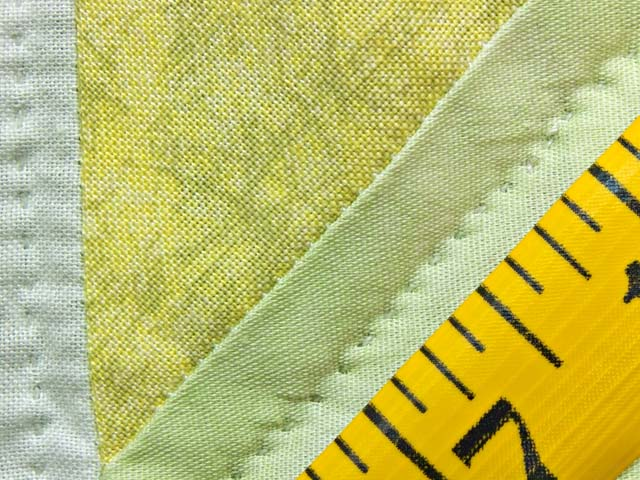 Pastel Green and Yellow Sunbonnet Sue Crib Quilt Photo 6