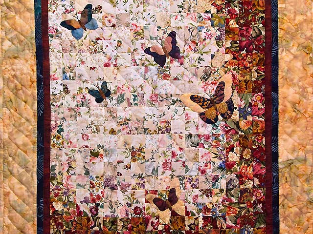 Caramel Butterfly  Journey -- Watercolor Wall Hanging Photo 2