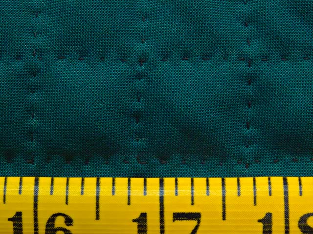 Extra Fine Teal and Purple Amish Center Diamond Wall Hanging Photo 6