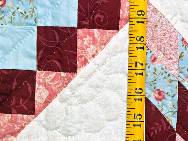 Pastel Blue and Rose Lone Star Trip Wall Hanging Photo 4