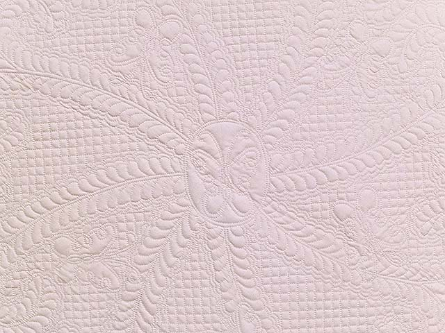 All Quilted Butterfly Table Throw Photo 2