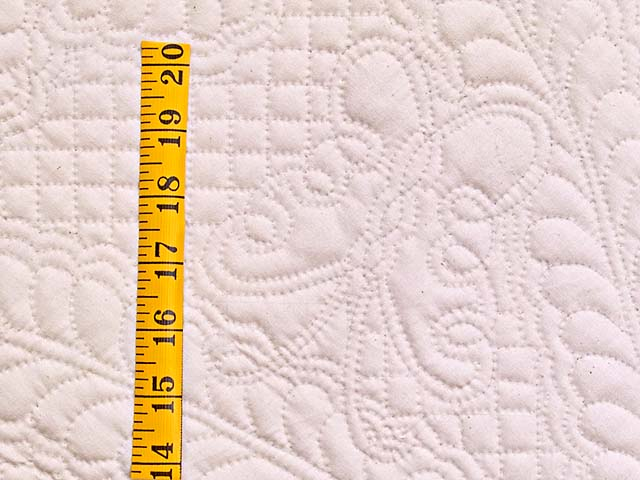 All Quilted Butterfly Table Throw Photo 4