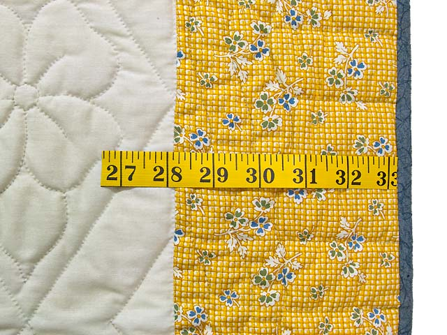 Bear BABY Embroidered Crib Quilt Photo 6