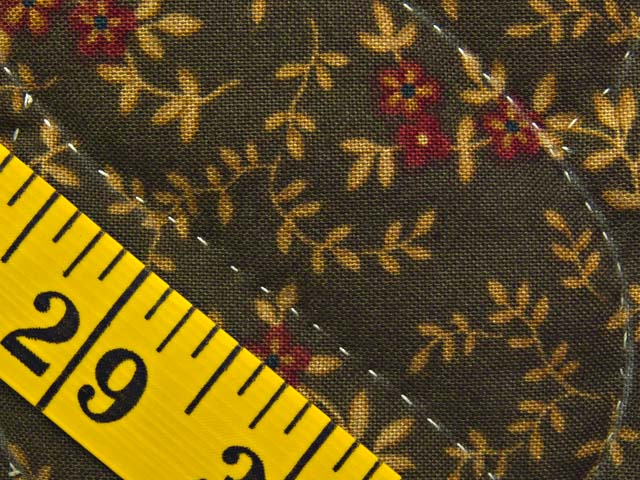 Moss Green and Burgundy Compass Star Wall Hanging Photo 6