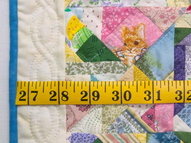 Miniature Pastel Crazy Quilt Photo 3