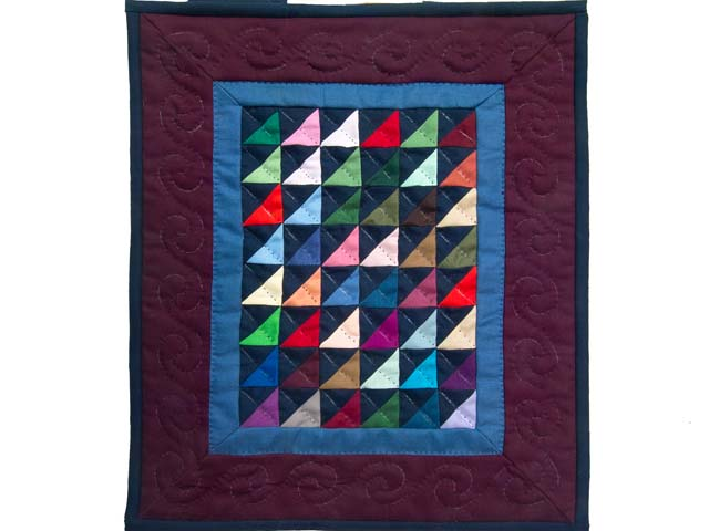 Mini Almost Amish Shadows Quilt Photo 1