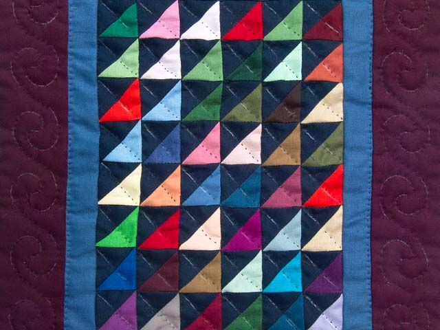 Mini Almost Amish Shadows Quilt Photo 2