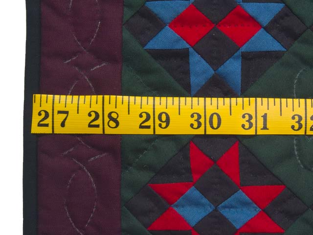 Miniature Amish Ohio Stars Quilt Photo 3