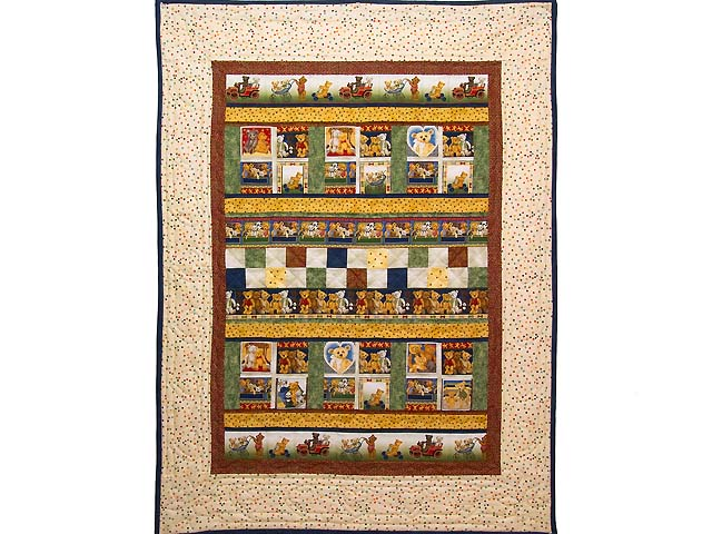 Teddy Bear Album Crib Quilt Photo 1