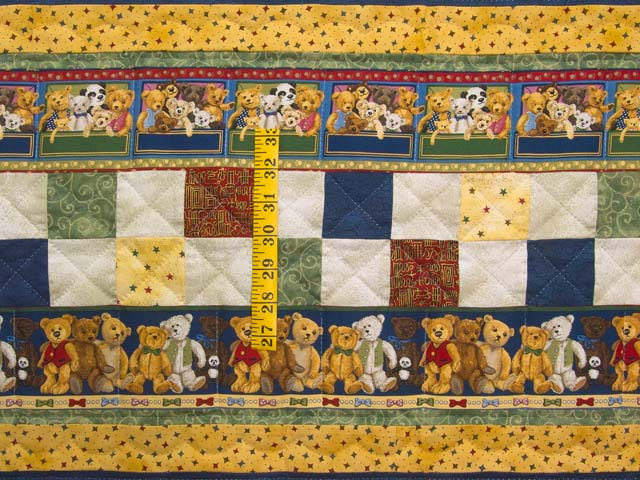 Teddy Bear Album Crib Quilt Photo 4