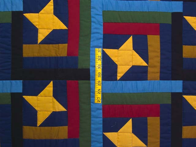 Amish Friendship Star Throw Photo 3